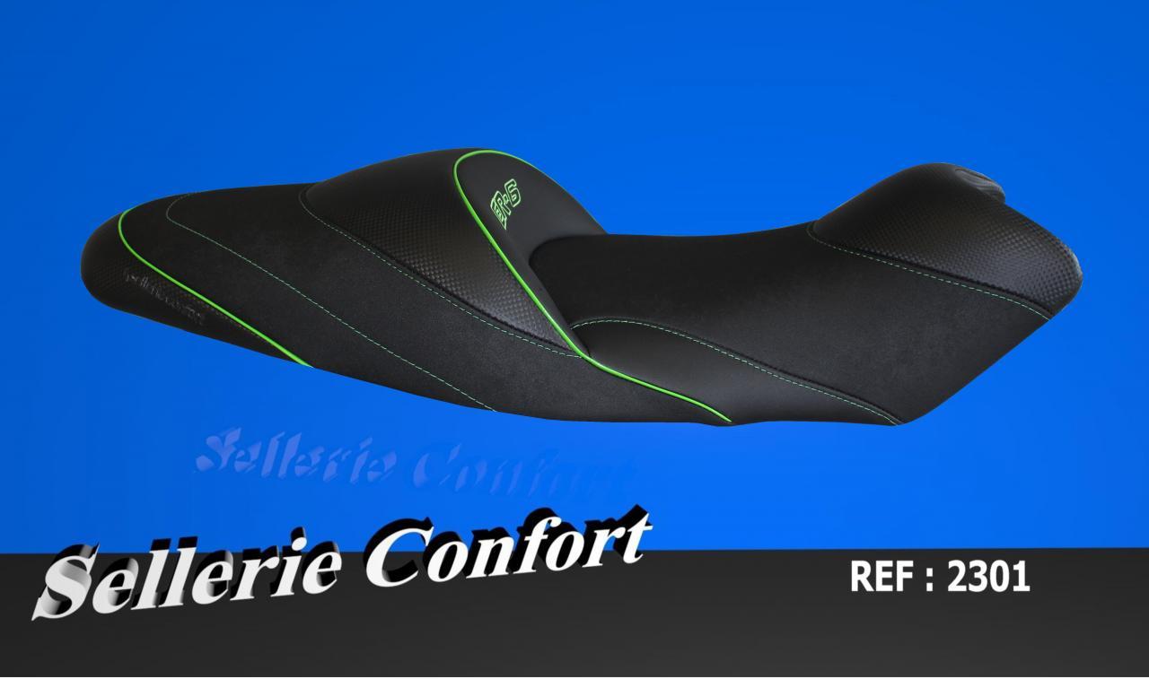 selle confort ER  6 avec gel avant KAWASAKI 2301