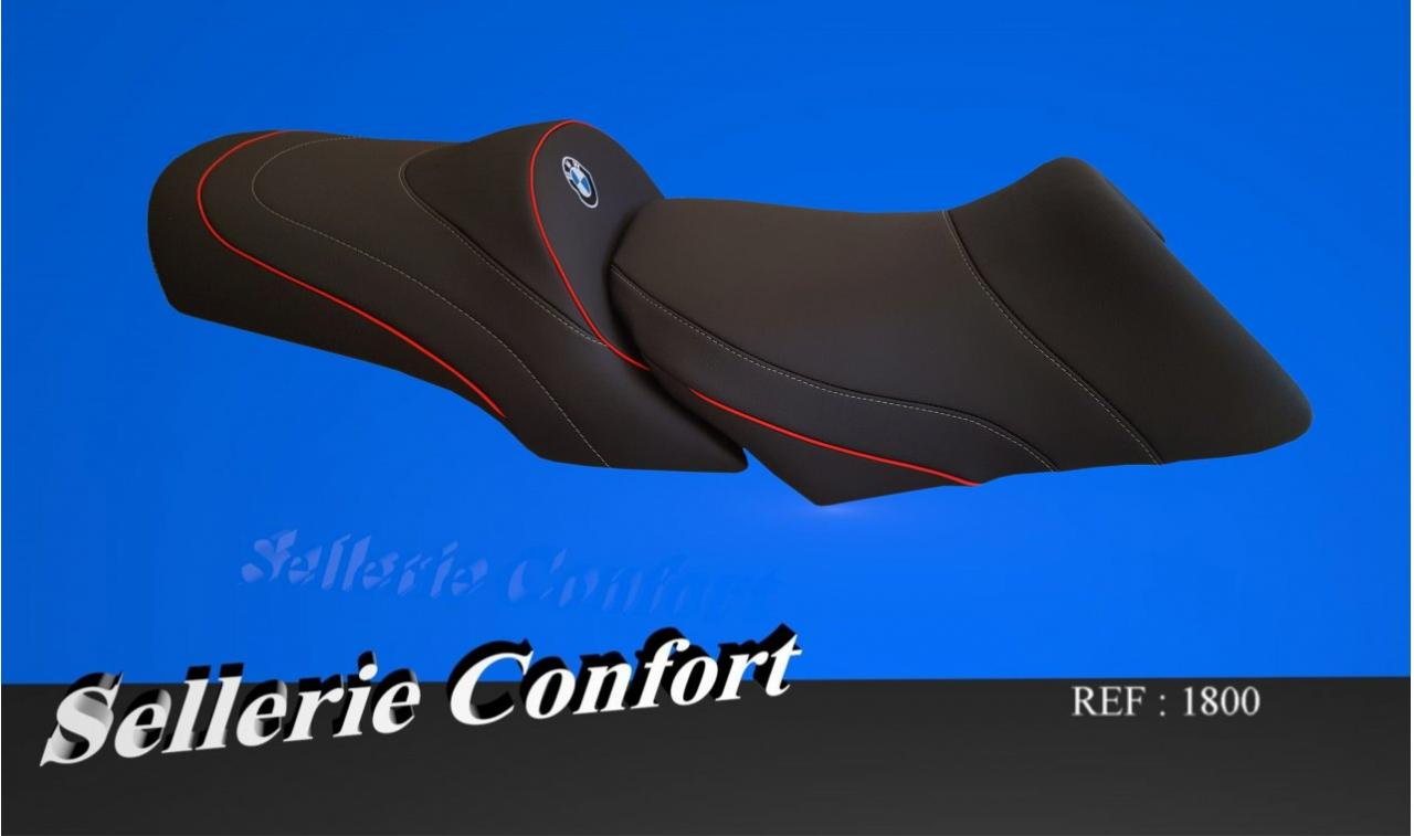 selle confort R 1200 RT gel avant et arriere BMW 1800