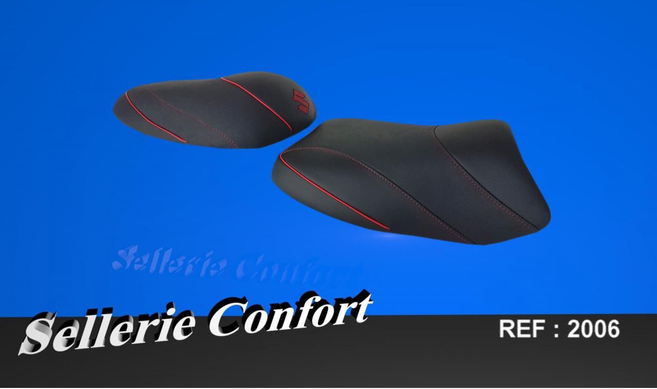 sellerie confort suzuki sv 650. Black Bedroom Furniture Sets. Home Design Ideas
