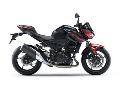 Z 400 ou Ninja 400